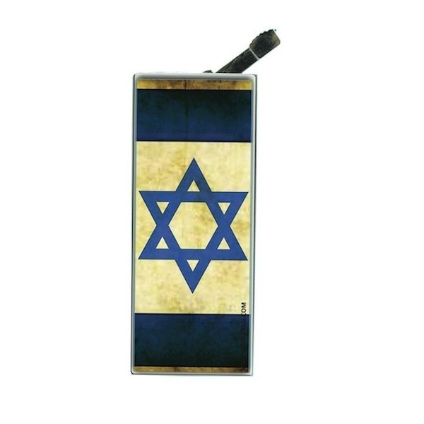 Lighter with clip Israelian Flag Vintage