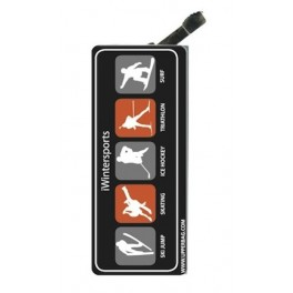 Lighter with clip iWintersports