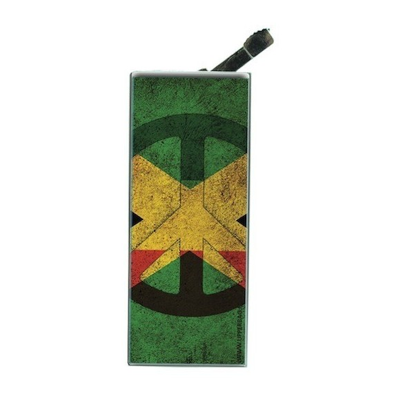 Lighter with clip Jamaican Flag Vintage