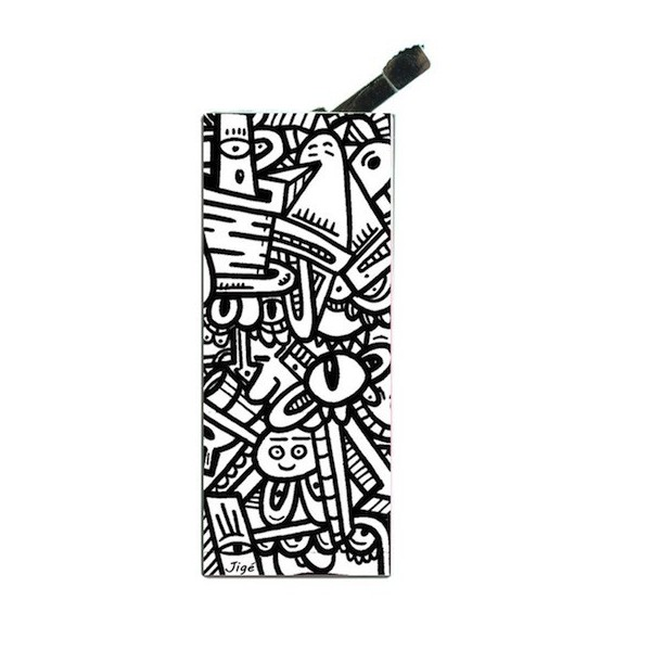 Lighter with clip Jige BW Cyclop