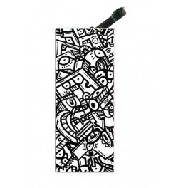 Lighter with clip Jige BW Graphic Arch