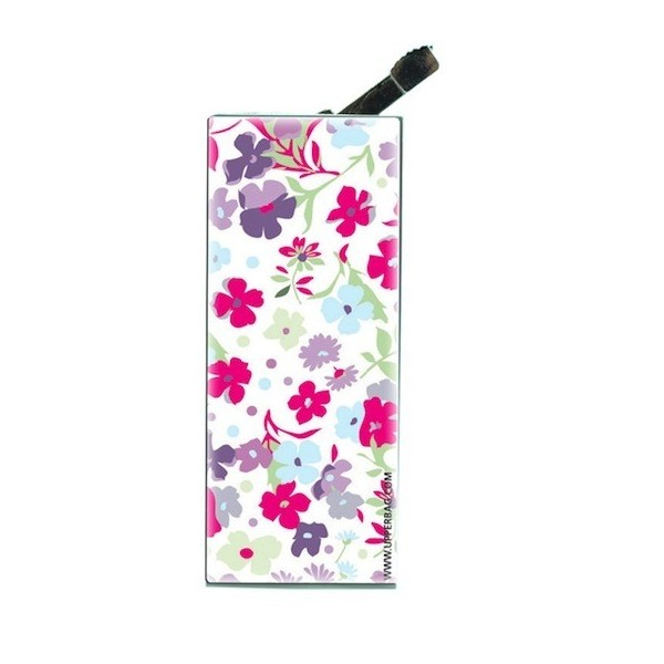 Lighter with clip Liberty White