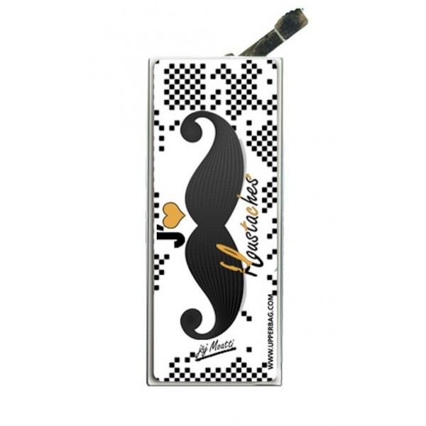 Lighter with clip Moatti Moustaches ca Frise