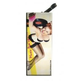 Lighter with clip Music Pin Up