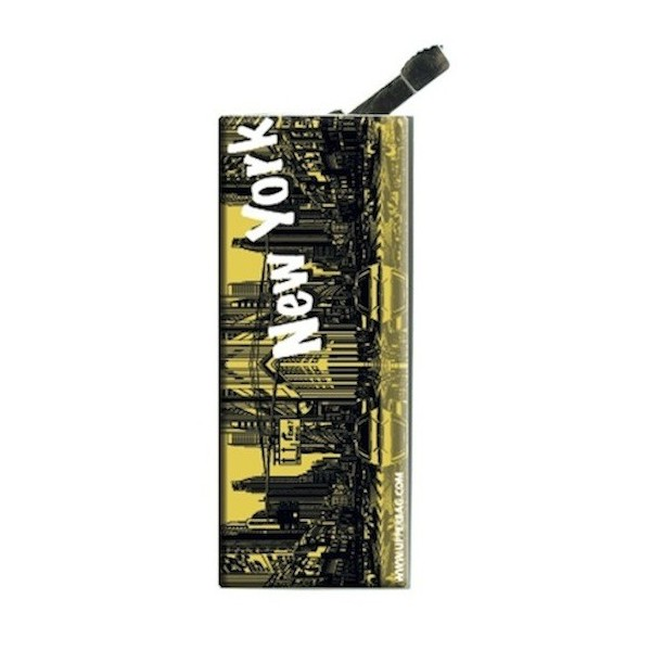 Lighter with clip New York Yellow
