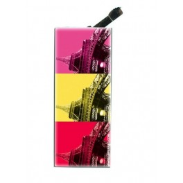 Briquet avec clip Paris As Warhol Hot