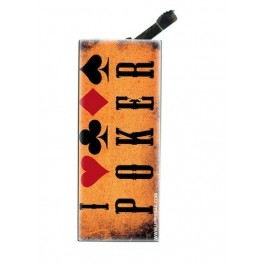 Lighter with clip Poker 1