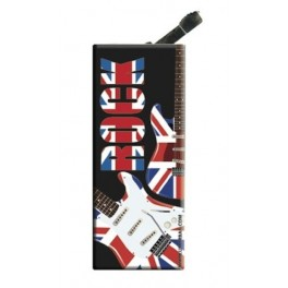 Briquet avec clip UK Rock Black