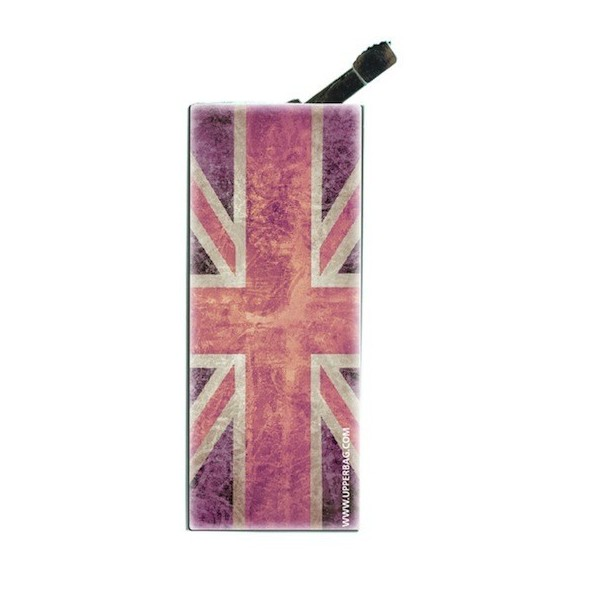 Briquet avec clip UK Flag Vintage & Pink