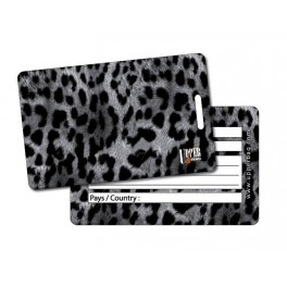 Etiquette Bagage Jungle Leopard 2