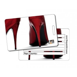 Etiquette Bagage Shoes Red