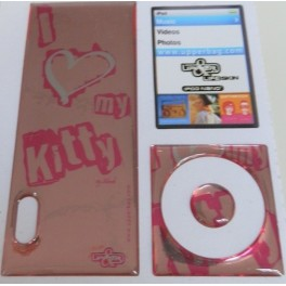 Skin 3D iPod Nano 5 Love Kitty Flashy