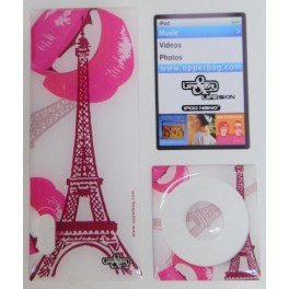 Skin 3D iPod Nano 5 Paris Pink