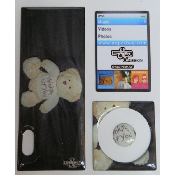 Skin 3D iPod Nano 5 Teddy Bear Love