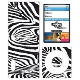 Coque 3D iPod Nano 5 Jungle Zebra B&W