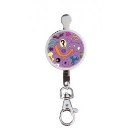 Hanger key Ben Comic Purple