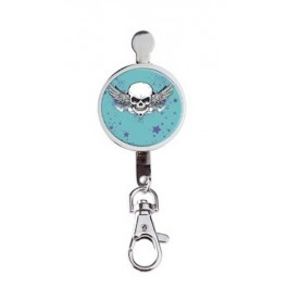 Hanger key Danger Blue