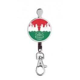 Hanger key Merry Christmas Red