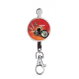 Hanger key Retro Harley Red