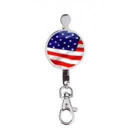 Hanger key USA Flag