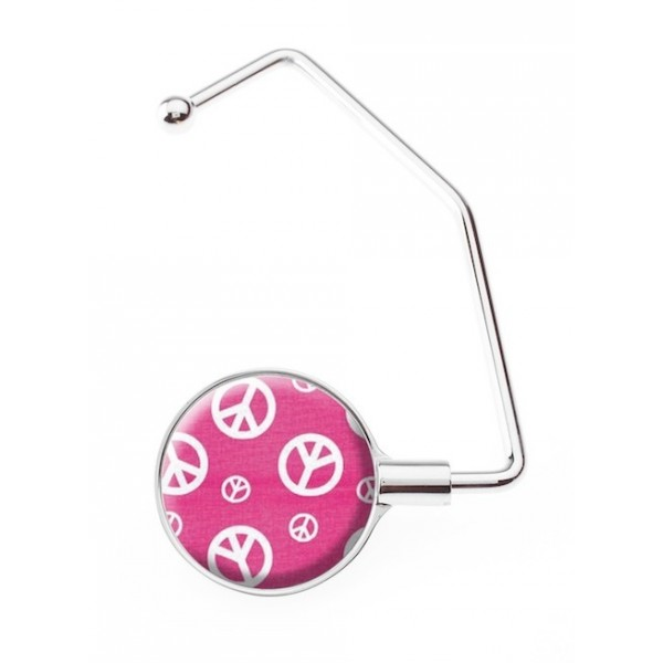 Accroche sac Pro Peace & Pink