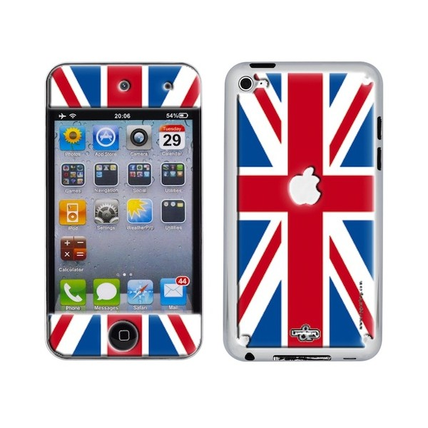 Coque 3D iPod Touch 4 UK Flag