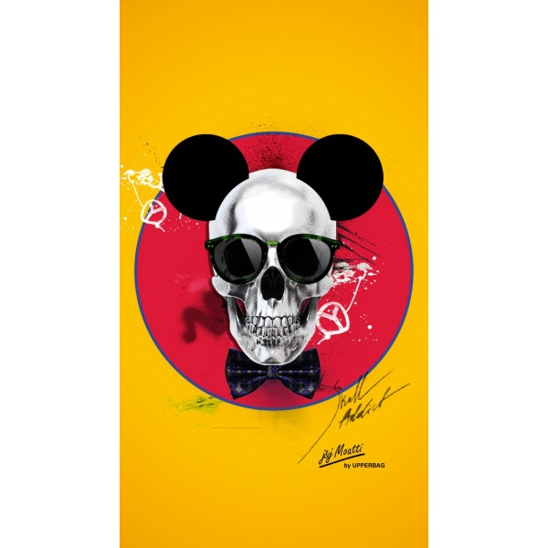 Screen background Moatti Skull Mousse Yellow End
