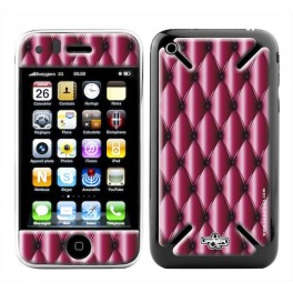 Skin 3D iPhone 3G/3GS Girly Pink