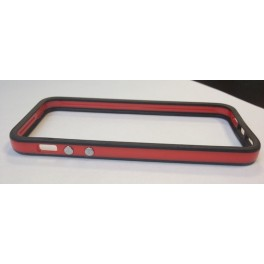 Protection iPhone 5 Bumper Black & Red