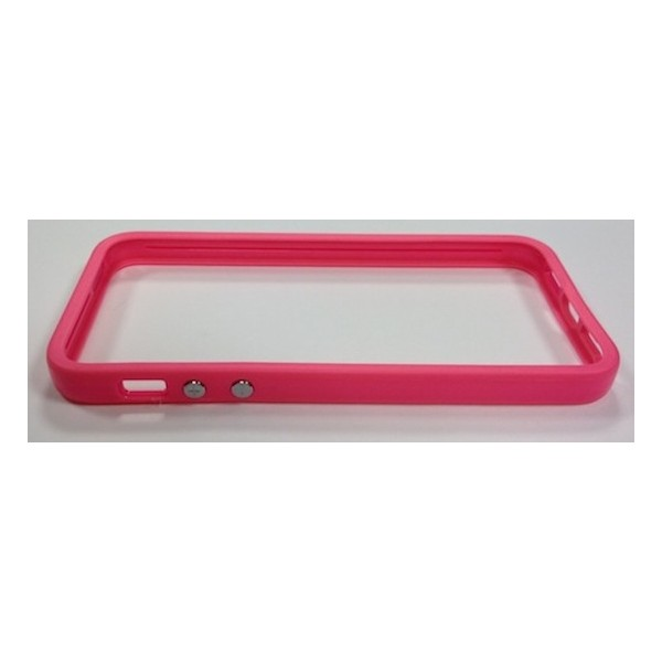 Protection iPhone 5 Bumper Full Pink