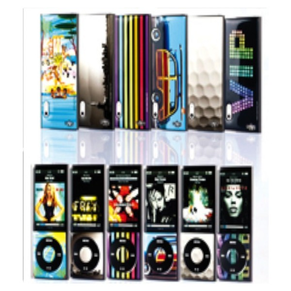 Skin 3D iPod Nano 5 Assortment