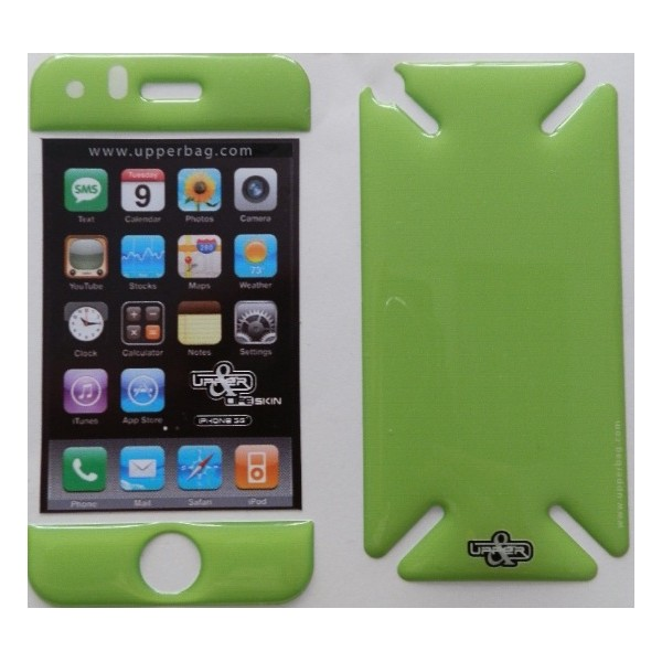 Coque 3D iPhone 3G/3GS Full Green