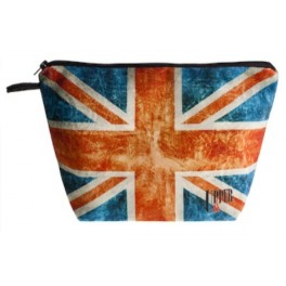 Trousse Toilette UK Flag Vintage