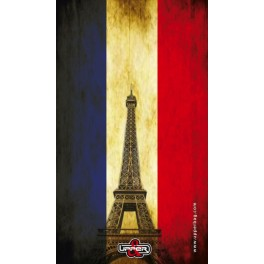 Screen background French Flag Vintage