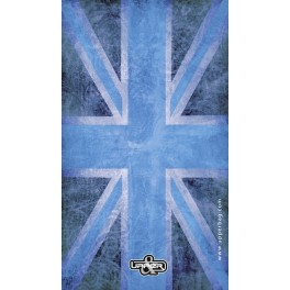Screen background UK Flag Vintage & Blue